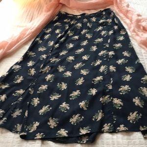 Fab floral skirt